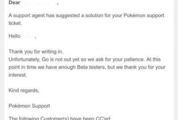 Pokemon GO : la bêta est sortie !