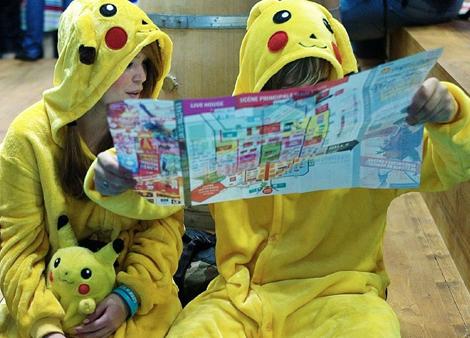 une carte pour retrouvez les pokémons ?