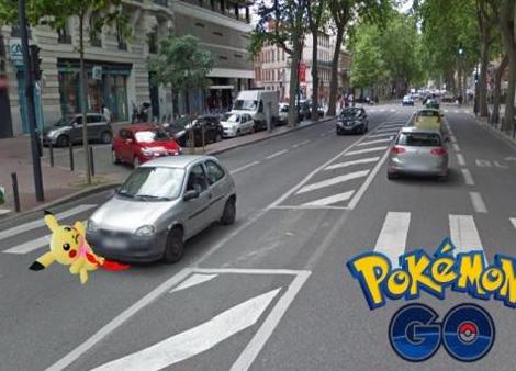 Pokémon Go: Pas de