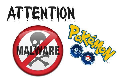 « Guide for Pokémon Go », attention malware !