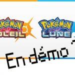 Pokemon Soleil et Lune bientôt en démo ?