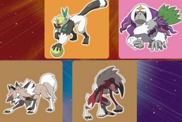 Découvrez les Pokémon exclusifs de Sun & Moon