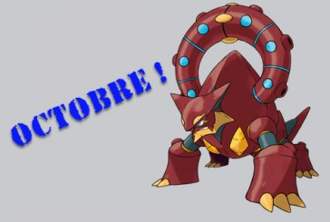 Distribution de Volcanion en octobre !