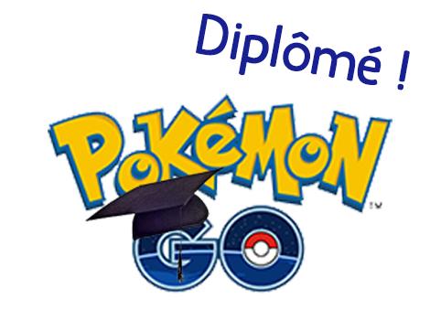 Étudiant en Pokémon Go ?!