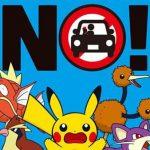 Plus de radar, ni de Pokémon en conduisant !