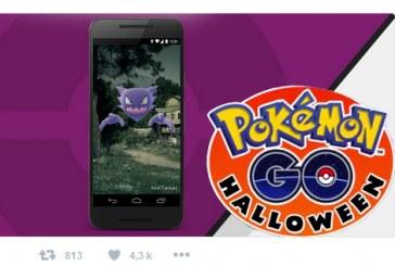 Un event Pokemon Go pour Halloween !