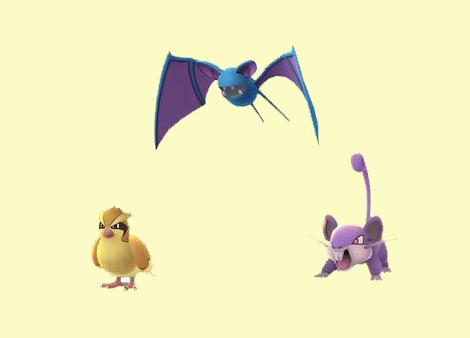Trois Pokémon communs vont se faire plus rares