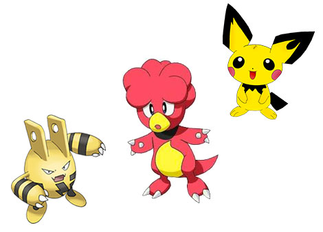 Les baby pokemon remplaceraient les oeufs