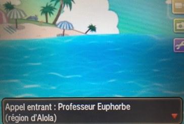 Première partie : Starter de Pokémon Soleil