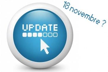 Vers une mise à jour majeure le 18 novembre ?