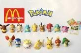Figurines et cartes Pokemon chez McDo