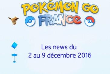 Pokemon Go News ! L'essentiel de la semaine !
