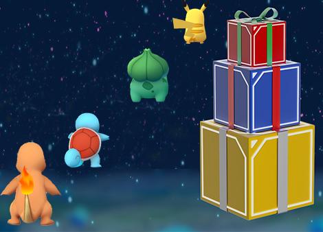 Pokemon Go : l'événement de Noël #2 est fini