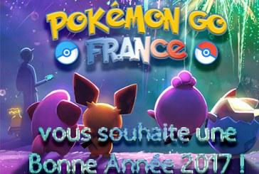 Pokemon Go France : les voeux 2017 !