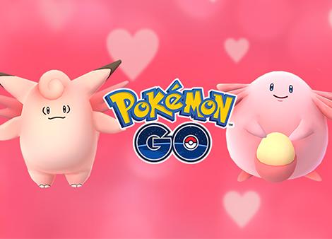 Pokemon Go : événement de Saint Valentin !