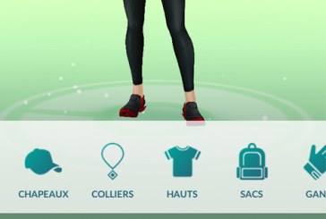 Pokemon Go : la boutique de l'avatar !