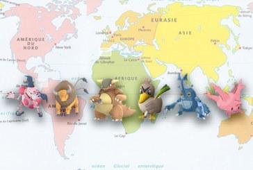Pokemon Go : une migration des régionaux ?