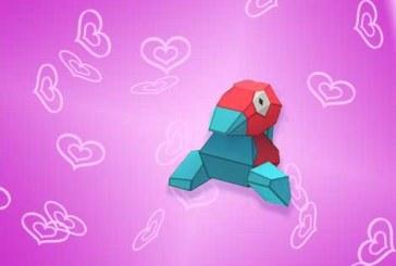 Porygon : le cadeau bonus de la Saint Valentin !
