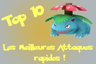 Pokemon Go : Top 10 des attaques rapides G2 !