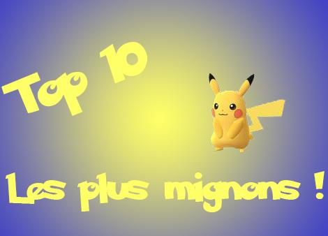 Top 10 des Pokemon les plus mignons !