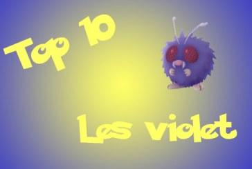 Pokemon Go : après les roses, les violet !