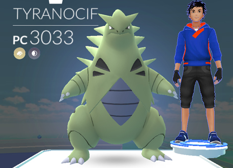 Pokemon Go : comment battre Tyranocif ?