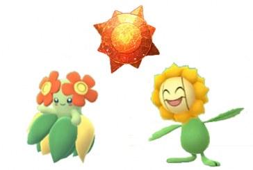 Pierre Soleil Pokemon Go : Joliflor ou Héliatronc ?
