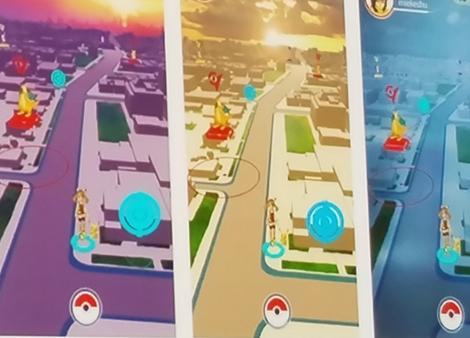 Pokemon Go : images de la première version