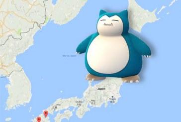 Pokemon Go : pour les Ronflex, c'est au Japon !