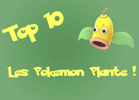 10 Pokemon plante pour le printemps !