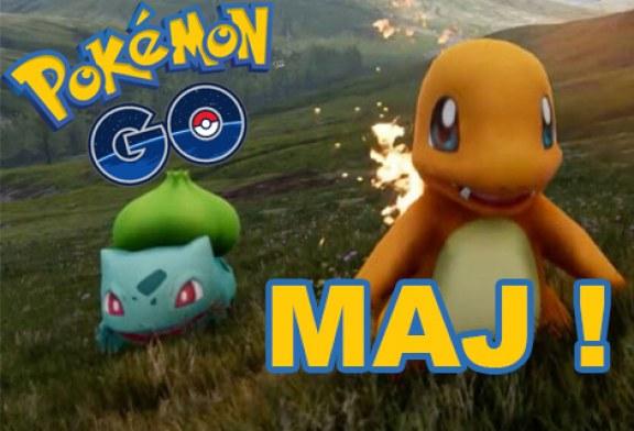Nouvelle mise à jour de Pokemon GO !