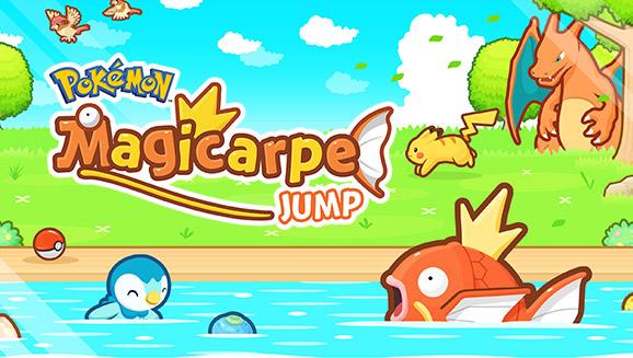 Magicarpe Jump : Le nouveau jeu Pokemon !