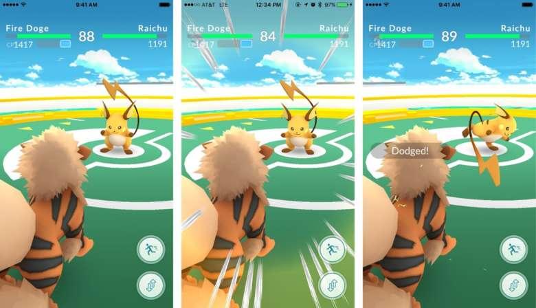 Pokémon GO : Fermeture Temporaire des Arènes