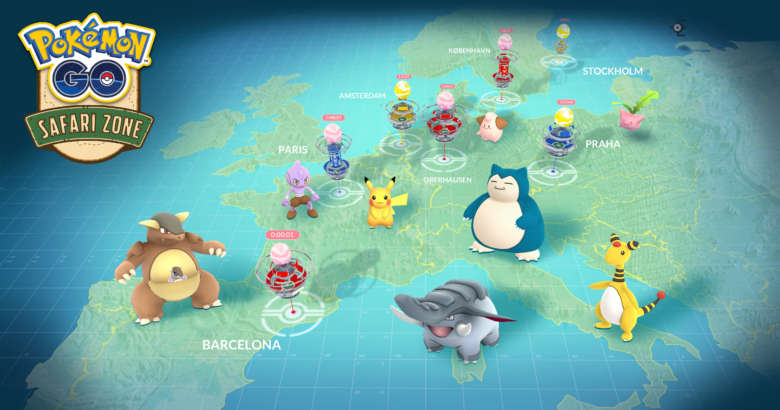 Récapitulatif du Pokemon GO Safari Zone !