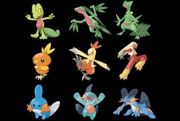Troisième génération Pokemon, passage en revue !
