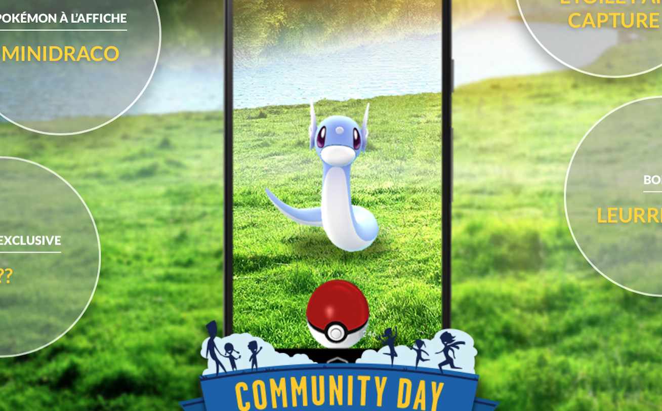 Le Pokémon GO Community Day de Février 2018 est annoncé !