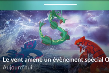 Pokemon Go : Evénement oeuf et vent !