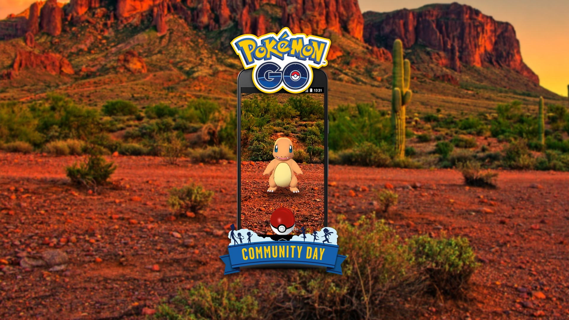 Salamèche, le Pokemon GO Community Day de Mai !