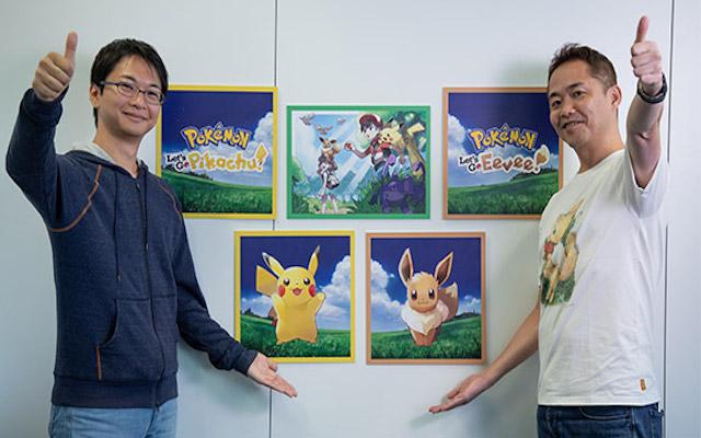 Pokemon Let's GO Pikachu et Evoli : le dernier jeu de Junichi Masuda ?