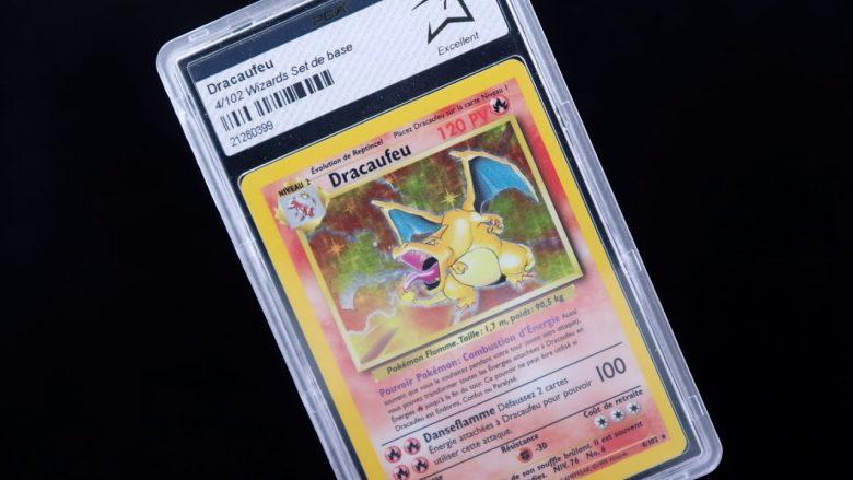 Dracaufeu Set de Base Grading PCA PSA Pokémon go France