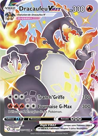 Dracaufeu VMax Pokémon Destinées Radieuses