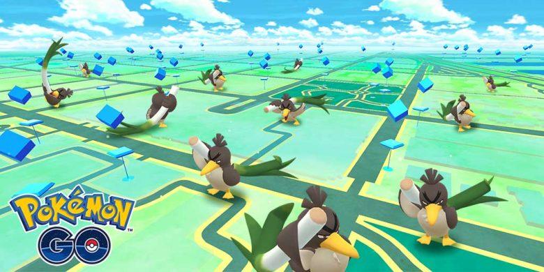 Canarticho de Galar Pokémon Go France